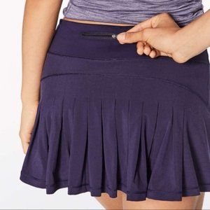 LULULEMON Circuit Breaker Skirt AEON Purple 10